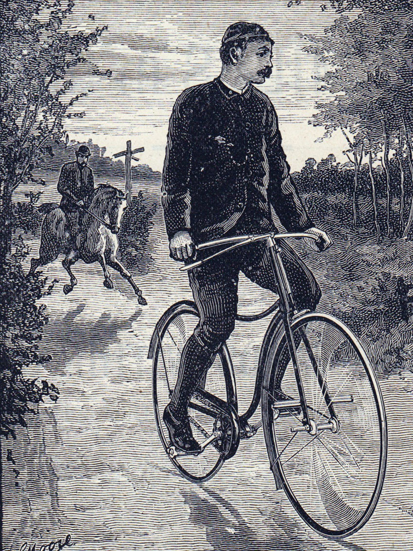 1890 'Extra Special' Crossframe Safety | The Online Bicycle Museum